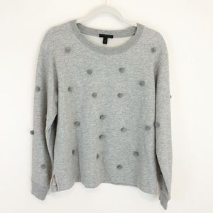 J. Crew Pom Pom Sweatshirt Sweater Top